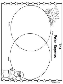 The Polar Express Math & ELA for Big Kids (30 pages!)