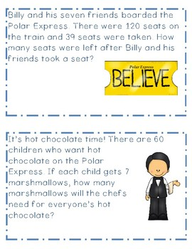 The Polar Express Math Rotation Word Problems