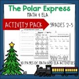 The Polar Express Math and ELA Activity Pack