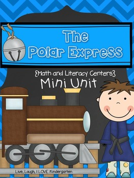 The Polar Express {Math and Literacy Centers} Mini Unit