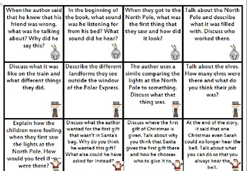 The Polar Express Questions for Hot-Chocolate Discussions