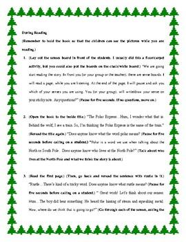 The Polar Express: Read Aloud Lesson Plan