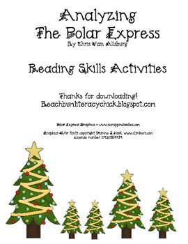 The Polar Express Reading Skills Activity Pack