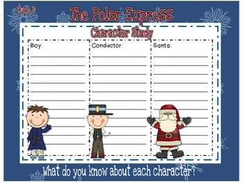 The Polar Express SMART Notebook