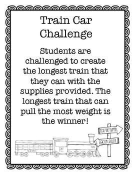 The Polar Express STEAM Challenge Pack