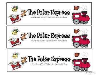 The Polar Express Ticket