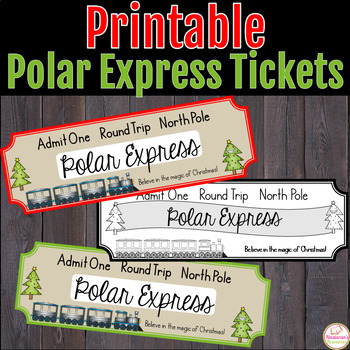 photo regarding Polar Express Tickets Printable titled Polar Categorical Tickets -Free of charge by way of Nastaran Lecturers Shell out Academics