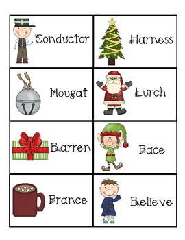 The Polar Express Vocabulary Activity Pack