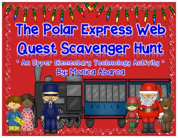 The Polar Express Web Quest Scavenger Hunt