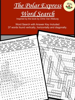 The Polar Express  Word Search