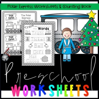 The Polar Express Worksheets & Counting Book