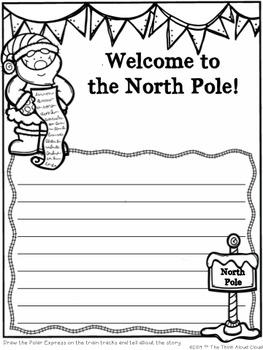 The Polar Express Writing Activities {FREEBIE}