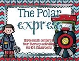 K-2 Polar Express Unit {Writing Activities and Math Centers}
