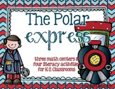 K-2 Polar Express Unit {Writing Activities and Math Centers}