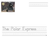 The Polar Express Writing Paper