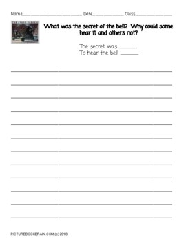 The Polar Express by Chris Van Allsburg Lesson Plan and Activities