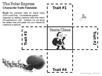 The Polar Express Reading Lessons with Interactive Notebook Activities {CCSS}