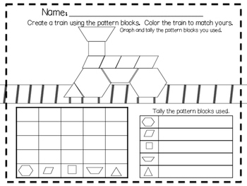 Polar Express Literacy and Math Pack