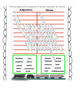 Polar Express Common Core literacy Unit