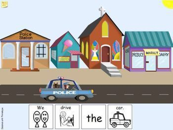 Interactive Book for Speech Therapy: Police Officers