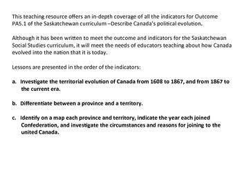 The Political Evolution of Canada - Grade 5 Social Studies