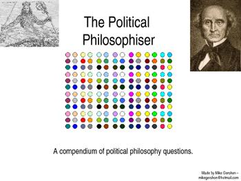 The Political Philosophiser