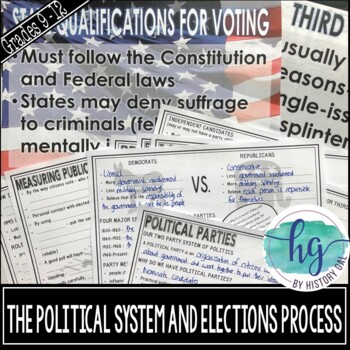 The Political System and Election Process PowerPoint and Guided Notes