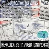 The Political System and Election Process PowerPoint and G