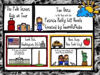 The Polk Street Kids on Tour - 2 Patricia Reilly Giff Units