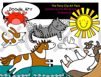 The Pony Clipart Pack