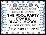 The Pool Party from the Black Lagoon (Mike Thaler) Novel Study  (23 pages)