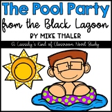 The Pool Party from the Black Lagoon Novel Study and Writing Activity