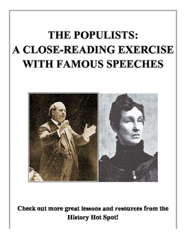 The Populists: A Close Reading of Famous Speeches