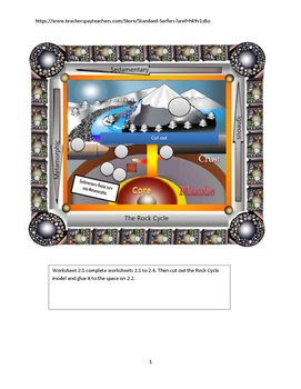 The Rock Cycle Model Lab