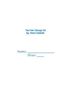 The Port Chicago 50 Novel Study Packet