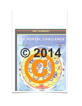 The Portal Challenge game. Trigger interest in S.T.E.M. St