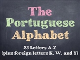 The Portuguese Alphabet PowerPoint