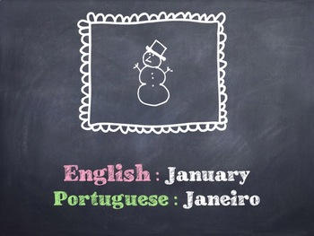 The Portuguese Months PowerPoint