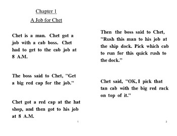 The Posh Cab decodable CVC chapter book