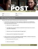 The Post Movie Guide (2017) Guided Viewing Worksheet