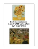 The Post-Impressionists -- an art set of 36 works by 6 maj