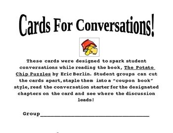 """""""The Potato Chip Puzzles"""": Conversation Cards"""