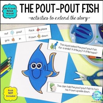 Read Aloud Interactive Book Activities: The Pout-Pout Fish Retelling, Rhyming