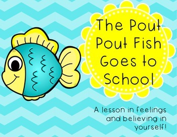 The Pout Pout Fish Goes to School Writing Activity