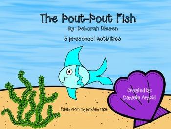 The Pout-Pout Fish: preschool pack