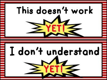 The Power Of Yet - A Growth Mindset