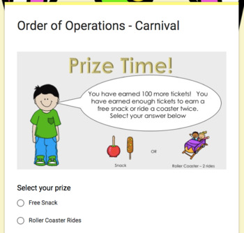 The Power Rule  – Google Carnival Game