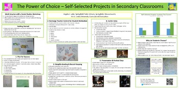 The Power of Choice - Self-Selected Projects in the Secondary History Classroom
