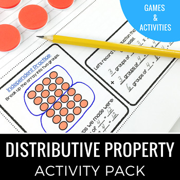 Distributive Property Activity Pack