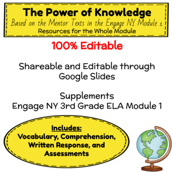The Power of Knowledge Unit - Engage NY Third Grade Module 1